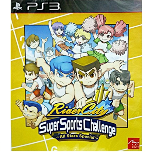 PS3: River City Super Sports Challenge -All Star Special- (Z3) - ENG [ส่งฟรี EMS]
