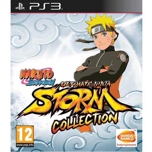 PS3: Naruto Shippuden Ultimate Ninja Storm Collection (Z2) [ส่งฟรี EMS]