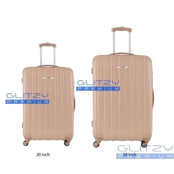 รับผลิตกระเป๋าเดินทางพรีเมี่ยม 4 ล้อ PC 16-20 นิ้ว