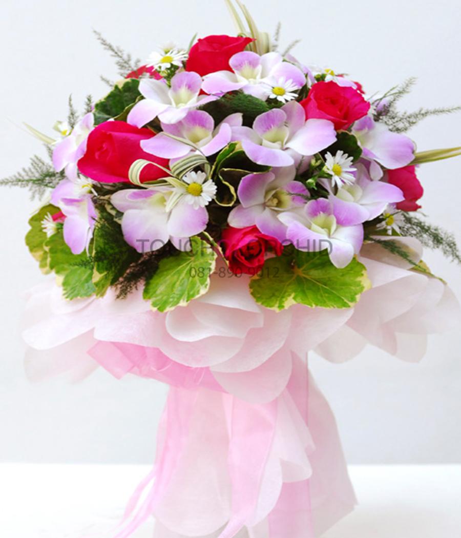 ช่อดอกไม้ Wedding T:B
