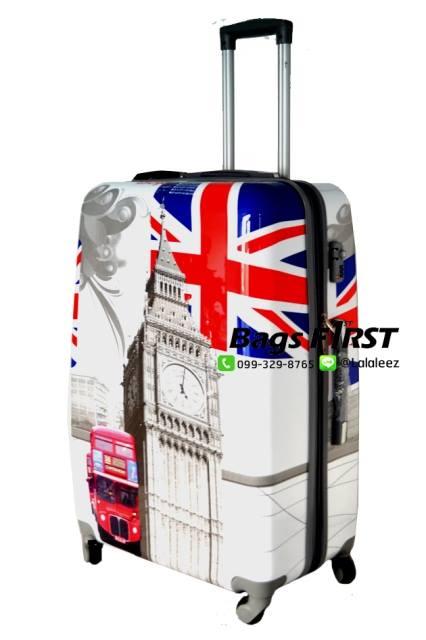 กระเป๋าเดินทาง ลายลอนดอน ขนาด 29 นิ้ว