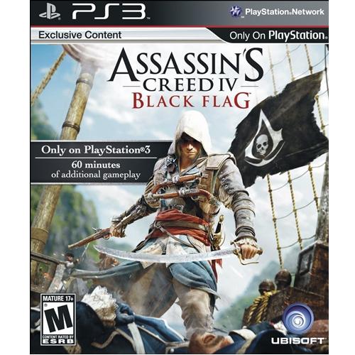 PS3: Assassin's Creed IV - Black Flag (Z3) [ส่งฟรี EMS]