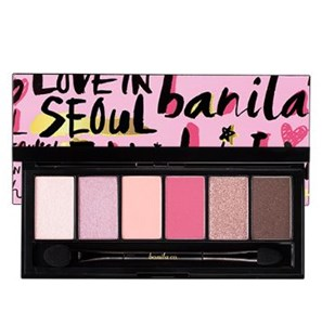 BANILA CO Fall in Seoul Eye Shadow Palette(30,000won) มี 3 แบบสี