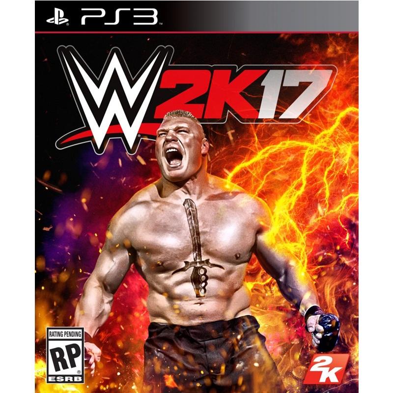 PS3: WWE 2K17 (Z3) [ส่งฟรี EMS]