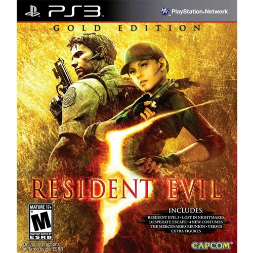 PS3: Resident Evil 5 Gold Edition - Greatest Hits (Z1) [ส่งฟรี EMS]