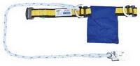 เข็มขัดกันตก แบบครึ่งตัว เชือกเซฟตี้ 1 เส้น 1 ตะขอเล็ก Yamada NP-737,W737 (Half Body Harnesses with Lanyard Small Hook )