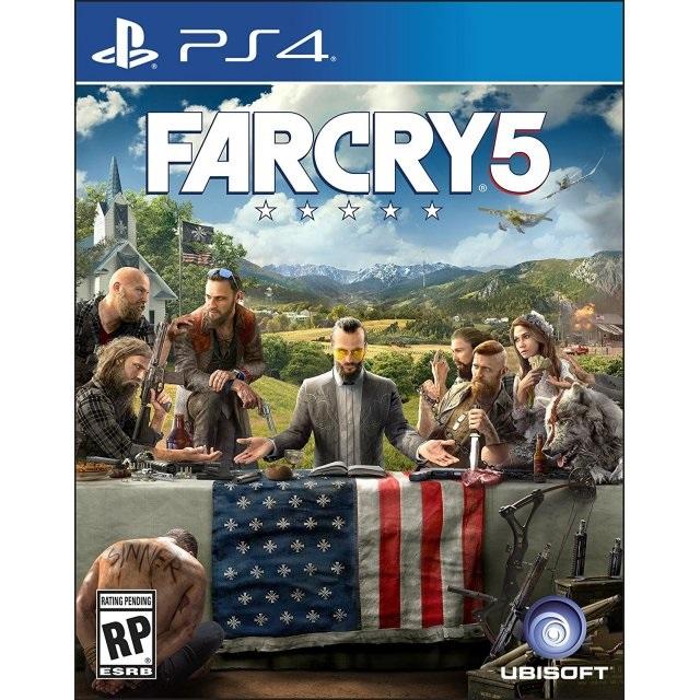 PS4: Farcry 5 (Z3) [ส่งฟรี EMS]