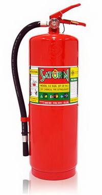 ถังดับเพลิง ผงเคมีแห้ง SATURN