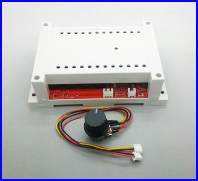 ดิมเมอร์ ควบคุมความเร็วมอเตอร์ดีซี DC10-50v 3000W 60A DC Motor Speed Control PWM HHO RC Controller