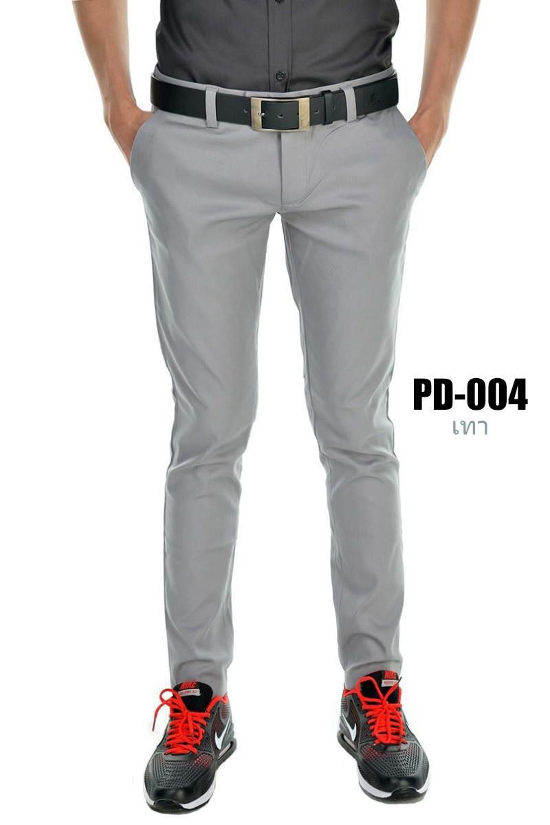 กางเกงขายาว รุ่น PD-004 (สีเทา)