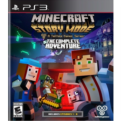 PS3: Minecraft Story Mode : The Complete Adventure (Z All) [ส่งฟรี EMS]
