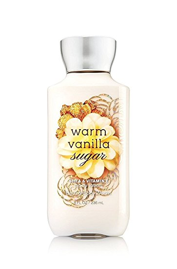 Bath & Body Works SHEA & VITAMIN E body lotion Warm Vanilla Sugar 8 oz.(236 ml.)บำรุงผิวให้นุ่มมม หอมมม นาน 16 ช.ม.ดีมากๆจากอเมริกาค่ะ