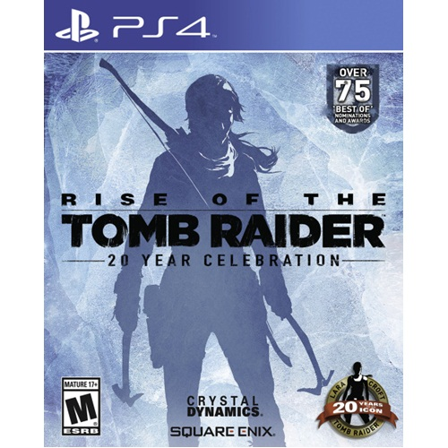 PS4: Rise of Tomb Raider - 20 Years Celebration (Z2) [ส่งฟรี EMS]