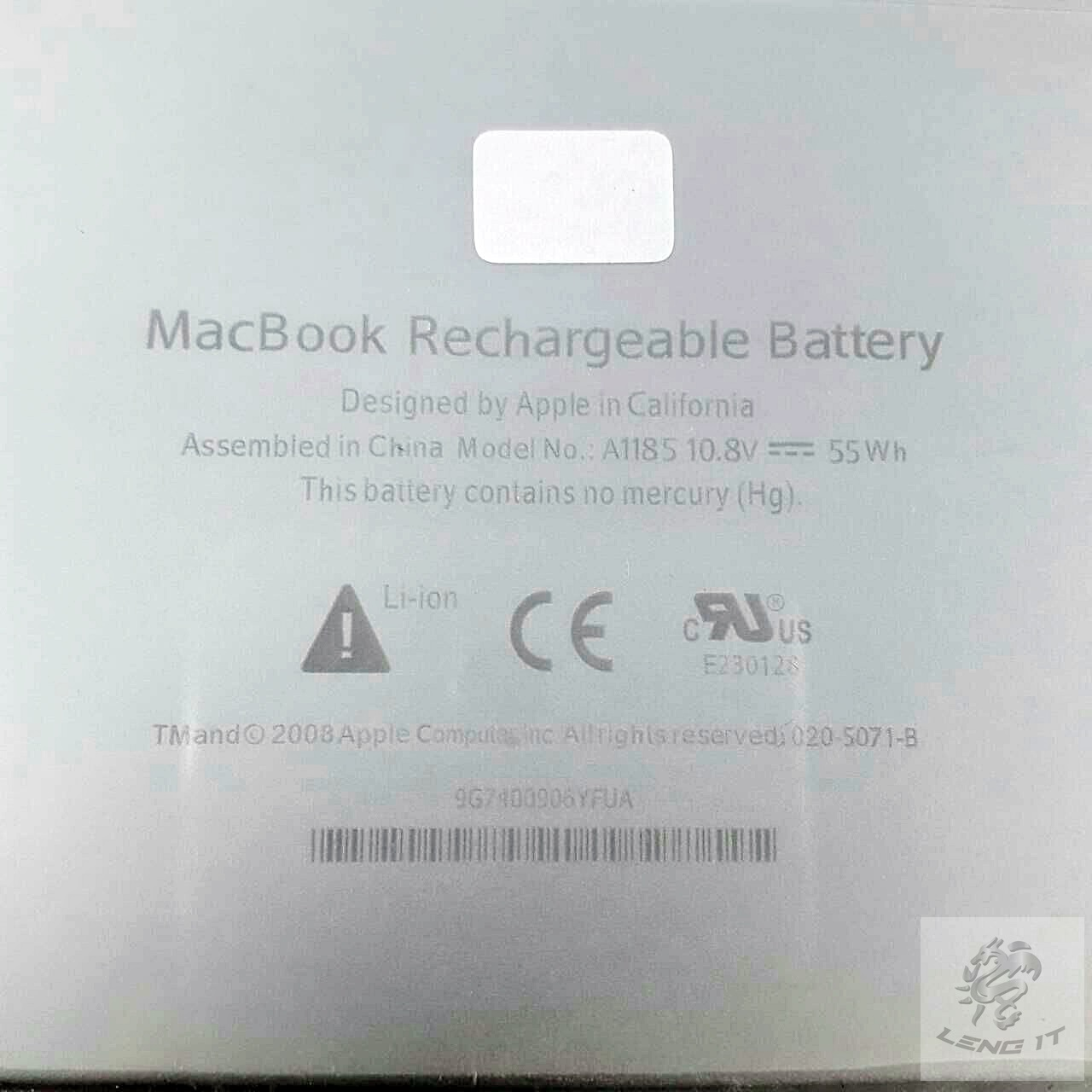 "Battery for Apple MacBook 13"" inch A1185 MA561 MA566 A1181"