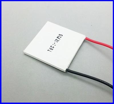 แผ่นทำความเย็น เทอร์โมอิเล็กทริค คูลเลอร์ เพียวเทียน TEC1-12715 TEC Thermoelectric Cooler Peltier 12V 15A