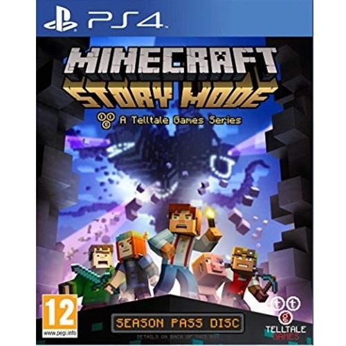 PS4: Minecraft Story Mode (Z All) [ส่งฟรี EMS]