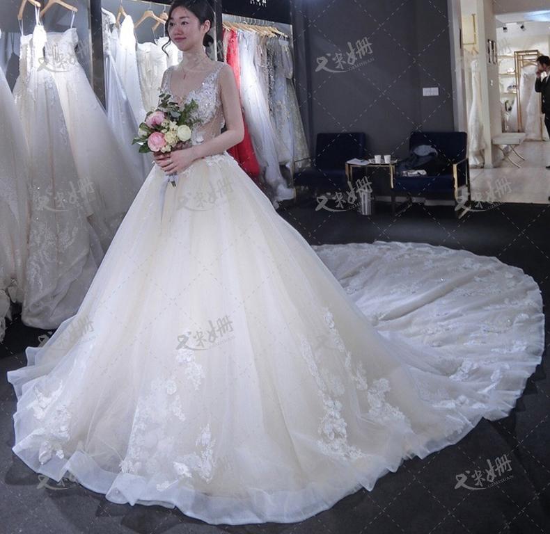 ชุดแต่งงาน แขนกุด