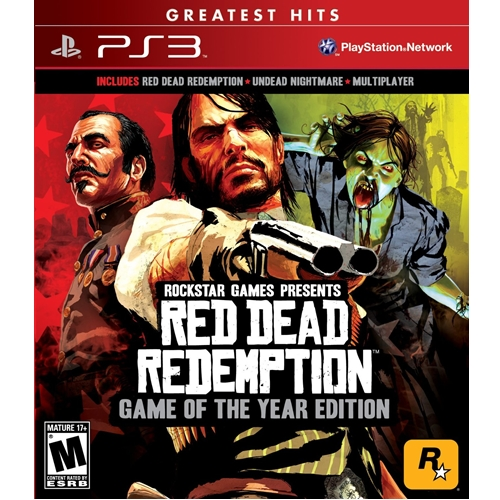 PS3: Red Dead Redemption Game of The Year Edition - Greatest Hits (Z1) [ส่งฟรี EMS]