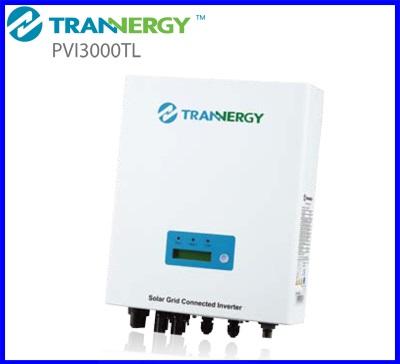 อินเวอร์เตอร์ โซล่าเซลล์ Trannergy On Grid-connected inverter 3kW (ยี่ห้อนี้สามารถนำไปขอใบรับรองจาก กฟภ. และ กฟน. โครงการ Solar Rooftop ได้)