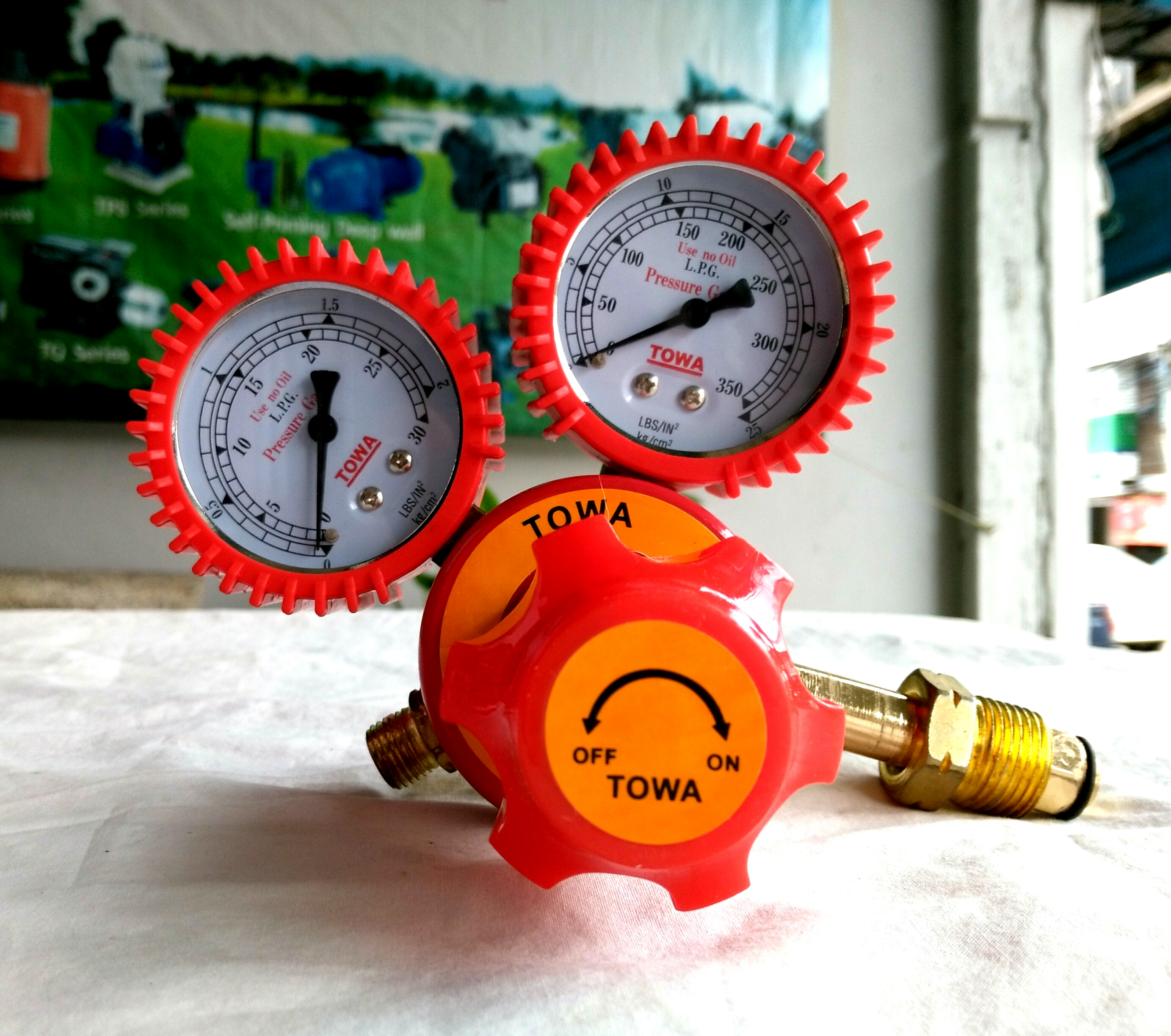 เกจ์แก๊ส LPG ยี่ห้อ TOWA
