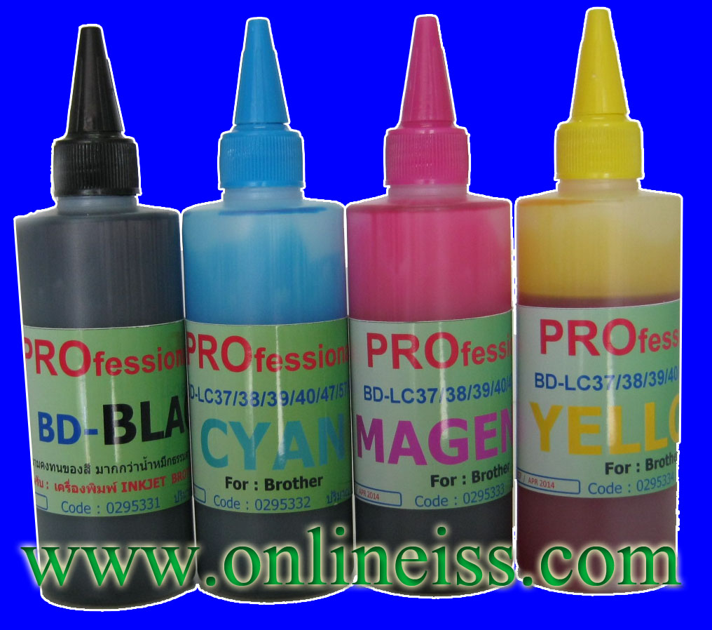 BD-LC38Y/67Y/39Y REFILL INK MIRACLE Pro 100 cc BROTHER YELLOW