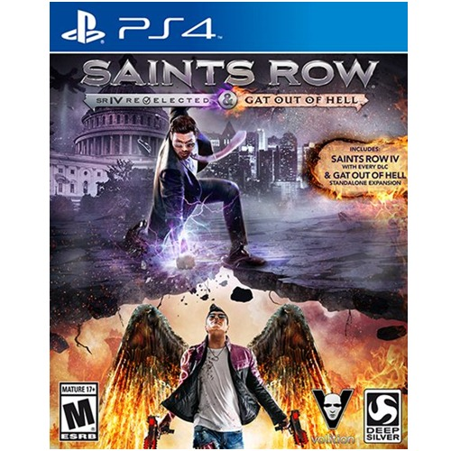 PS4: Saint Row IV - Re-Elected Gat out of Hell (Z3) [ส่งฟรี EMS]