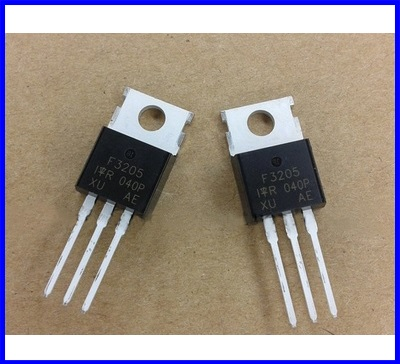 10ตัว Power Mosfet ไอซีสำหรับโซล่าชาร์ทเจอร์ IRF3205PBF IRF3205 IR TO-220