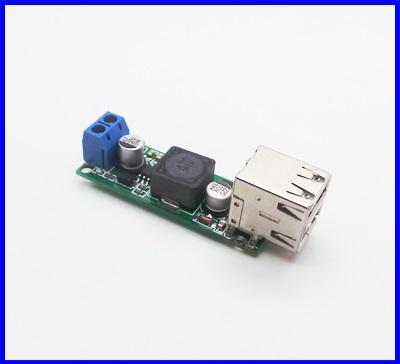 ดีซี คอนเวอร์เตอร์ ตัวแปลงไฟDC เป็น DC Booster Converter Input 6-35VDC to 5VDC Output Voltage (Outputสูงสุด 2A 3A )