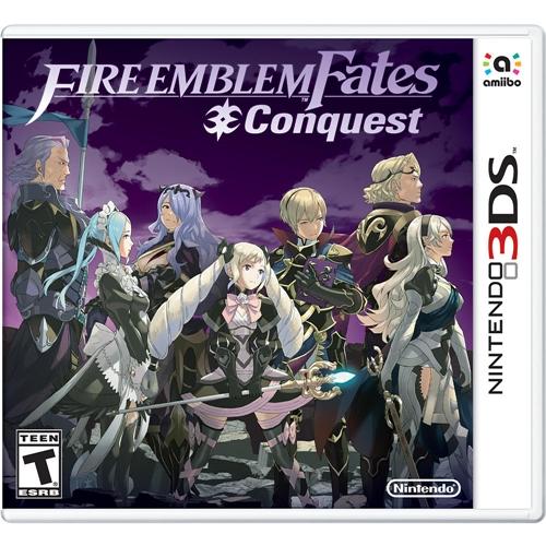 3DS: Fire Emblem Fates : Conquest (US) [ส่งฟรี EMS]