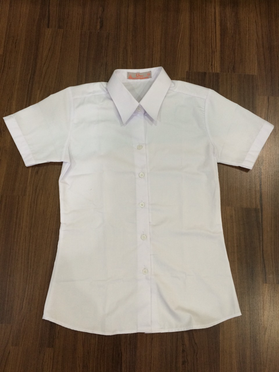 เสื้อเชิ๊ตนักศึกษาหญิง รอบอก 42 นิ้ว ไซด์ XL