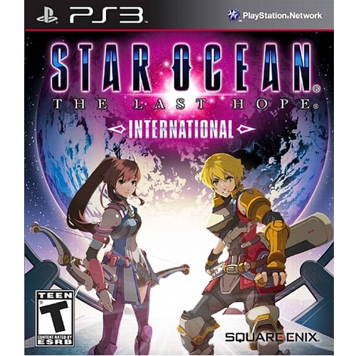 PS3: Star Ocean The Last Hope International (Z1) [ส่งฟรี EMS]