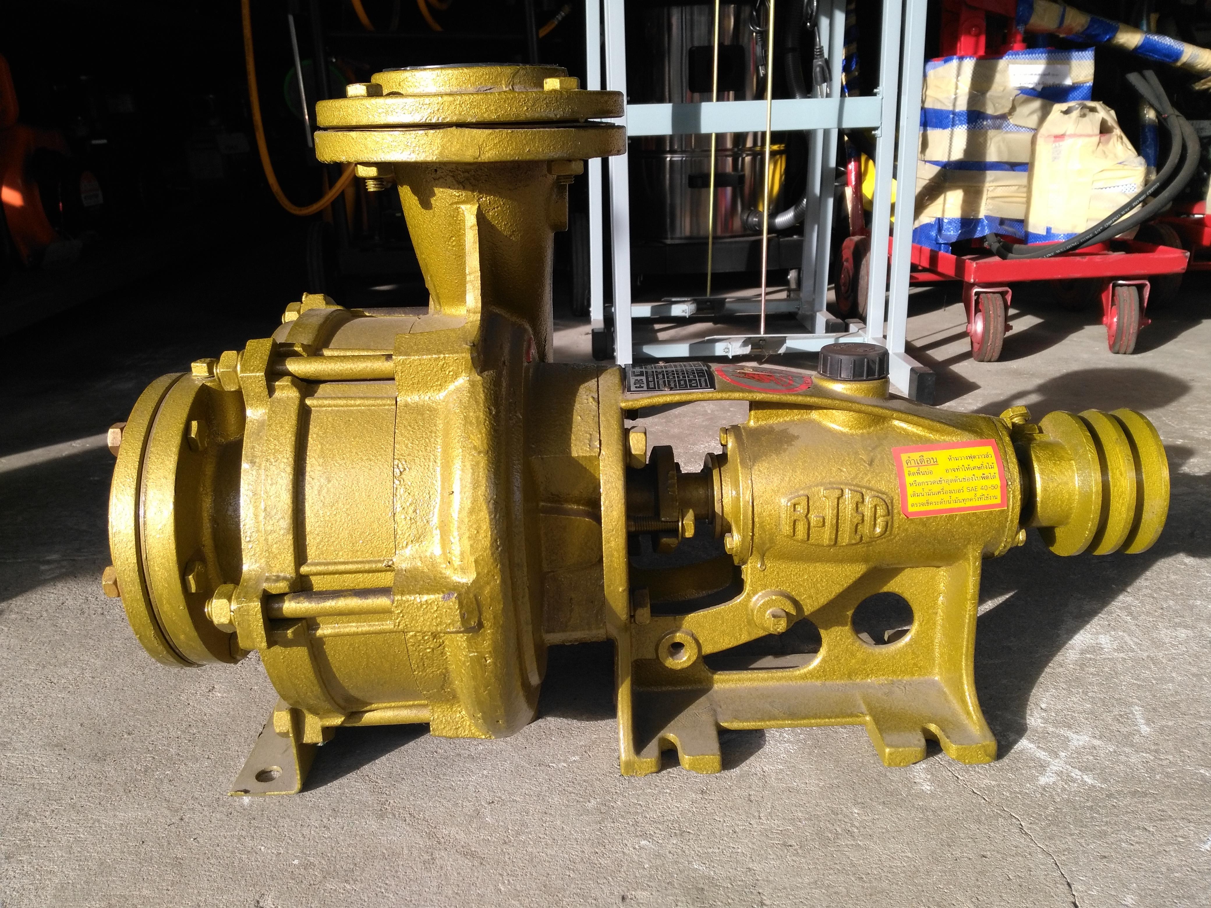 ปั๊มน้ำเพลาลอยเหล็กหล่อแรงดันสูง R-TEC 4 * 3 นิ้ว รุ่น RTM2-100*80N