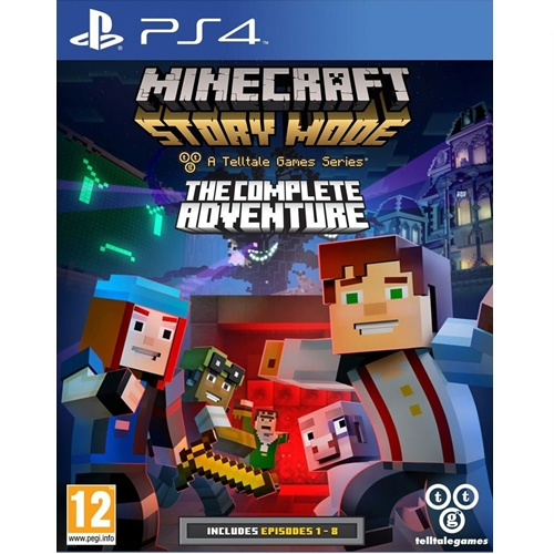 PS4: Minecraft Story Mode The Complete Adventure (Z2) [ส่งฟรี EMS]