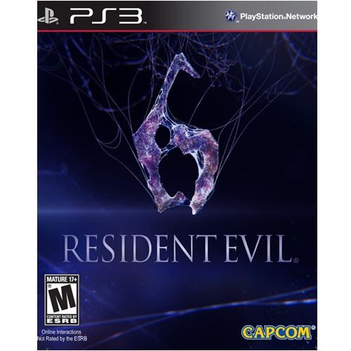 PS3: Resident Evil 6 (Z1) [ส่งฟรี EMS]