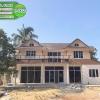 6-002 บ้านน็อคดาวน์ - บ้านหลังใหญ่ - ทรงจั่วมุกซ้อน