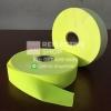 แถบผ้าสะท้อนแสง สีเขียวมะนาว หน้ากว้าง 1, 1.5, 2 นิ้ว