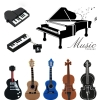 Musical Instruments Model USB flash drive 8GB