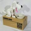 หมากินเหรียญ ออมสิน - สีขาว [dog-sav01]