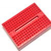 Breadboard 170 holes สีแดง บอร์ดทดลอง เบรดบอร์ด โพโต้บอร์ด