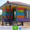 1-005 บ้านน็อคดาวน์ - ทรงปั้นหยา - 3x4 เมตร