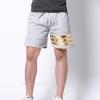 กางเกงขาสั้น พรีเมี่ยมวอร์ม รหัส WT209 G สีเทาอ่อน แถบทอง SUMMER SALE