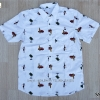 เสื้อเชิตพิมพ์ลายกราฟฟิควินเทจ SSF019