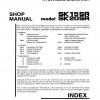 หนังสือ คู่มือซ่อม Kobelco Hydraulic Excavator SK15SR , SK20SR (ข้อมูลทั่วไป ค่าสเปคต่างๆ วงจรไฟฟ้า วงจรไฮดรอลิกส์)
