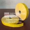 แถบPVCสะท้อนแสง ลายเคฟลา 1นิ้ว สีเหลือง