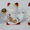 แมวกวัก แมวนำโชค สูง2.5นิ้ว ชุด 5 ตัว [catset-XL1]