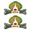 PET2GO ขนมขัดฟันสุนัข เดลี่ เดนทัลโบน รสคลอโรฟิลล์ 175g (2ชิ้น/ชุด)