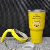 ชุดแก้วเยติ 30 ออนซ์ พื้นสีเหลือง ลายการ์ตูน หมีพู