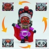 ตุ๊กตาจีน เปลี่ยนหน้ากากได้ (มี 4 หน้า) - สีบานเย็น