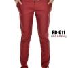 กางเกงขายาว รุ่น PD-011 (สีแดงเลือดหมู)