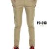 กางเกงขายาว รุ่น PD-013 (สีกากี)